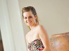 Brina showing off her bikini