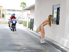 FTV Girls Madison gets wet at the carwash - FTVGirls.com